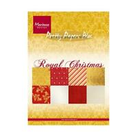 Marianne Design A5 Pretty Papers Bloc - Royal Christmas PK9151
