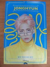 JONGHYUN (SHINee) - 1st (First) Album [OFFICIAL] POSTER K-POP GOOD/LIKE/SHE IS