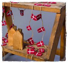 Girlande mit dänischen Flaggen * Dannebrog 20 Solwang Design DK