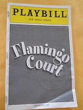 August  2008 - New World Stages Playbill - Flamingo Court - Jamie Farr