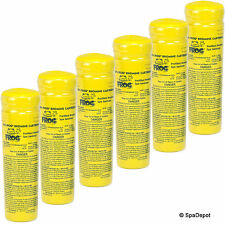 Spa Frog Hot Tub Floating/Inline System - Yellow Bromine Cartridge 6 pack