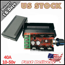 10-50V 40A DC Motor Speed Control PWM HHO RC Controller 12V 24V 48V 2000W MAX VP