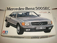 Tamiya 1/24 scale Mercedes-Benz 500 SEC model kit #29