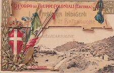 * COLONIA ERITREA - R.Corpo Truppe Coloniali Fanteria Indigeni 2°Batt. Saganeiti