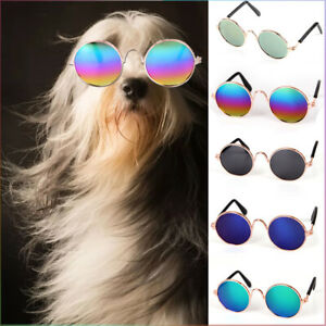 Pet Dog Sunglasses Toys Eye Wear Goggle UV Sun Protection Glasses Adjustable Hot