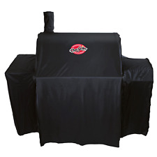 Char-Griller DELUXE BBQ COVER 1060-1540mm Extendable Gusset, Weather Resistant