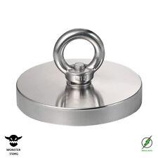 Magnet fishing neodymium strong magnet MEGA MONSTER 550kg (1000lb) UK seller
