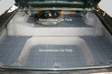 1962-1964  Chevy Impala Convertible RUBBER TRUNK MAT Crowsfoot Patt 62 63 64
