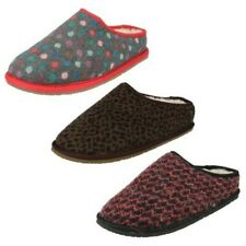 Ladies Clarks Adella Alpine Warmlined Slippers