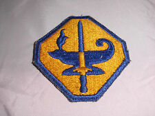 WWII World War 2 Army Specialized Training Program Lamp of Knowledge Patch ASTP