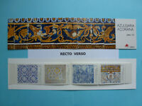 LOT 11090 TIMBRES STAMP CARNET AZULEJOS ACOREANOS PORTUGAL ANNEE 1994