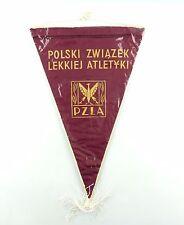 #e6439 Old pennant from Poland Polski zwiazek lekkiej atletyki pzla