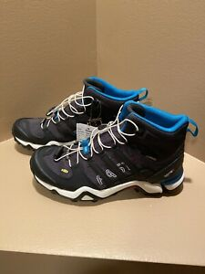 ADIDAS Women's TERREX Fast R2 Mid Goretex Hiking Shoes US 7/EUR 38/UK 5.5 Black
