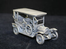 Italian 800 Silver Model Car by UnoAerre of Arezzo