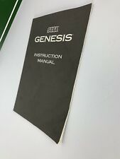 Sega Genesis 2 Console Instruction Manual Only