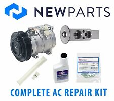 Toyota Corolla 2003-2008 1.8L Complete A/C Repair Kit OEM Compressor with Clutch