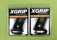 2PACK X-Grip for 1911 Full Size Magazine Use in Officer/Compact Pistol 45ACP/9mm