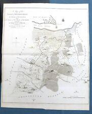KENT, 1797 - Hundred of BOUGHTON BLEAN, SEASALTER, Original Antique Map - HASTED