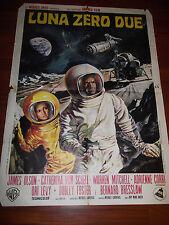 "MANIFESTO ORIG. DEL FILM "" LUNA ZERO DUE "" - FANTASCIENZA - 1969 -"