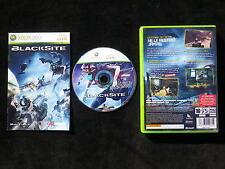BLACKSITE : JEU Microsoft XBOX 360 (Midway COMPLET envoi suivi)