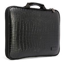 Dell XPS 13 Ultrabook Laptop Case Sleeve Memory Foam Bag Crocodile Black