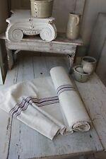 Grainsack fabric Washed Grain Sack material linen 9.3 linen cotton mix c1900