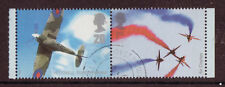 GREAT BRITAIN 2008 PILOT TO PLANE, SPITFIRE, RED ARROWS BOOKLET STAMPS FINE USED