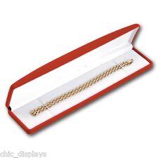 VELOUR WATCH GIFT BOX RED WATCH BOX BLACK BRACELET BOX JEWELRY BOX <HOT DEAL!>