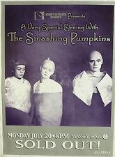 SMASHING PUMPKINS 2008 CANADIAN CONCERT TOUR POSTER - Alternative Rock Music