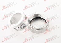 """2"""" 50.8mm ID Aluminium Alloy Weld On Filler Neck And Cap Oil, Fuel, Water Tank"""
