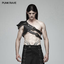 Punk Rave Steampunk Shoulder Armor,New style,Gothic cosplay Black men's style