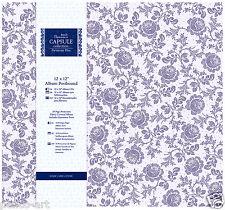 "Papermania scrapbook memory ALBUM 12x12"" capsule collection Parisienne blue"