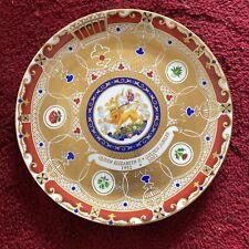 Royale Stratford Fine Bone China Queen Elizabeth Ii Golden Jubilee Plate 2002