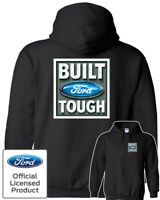 Built FORD Tough Logo Hoodie - Official Licensed Authentic F-150 Truck Mustang