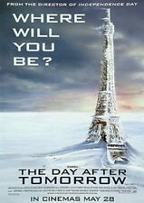 The Day After Tomorrow (Eiffel Tower) (Double Sided) Original Movie Poster