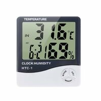 Mini Digital LCD Indoor Temperature Humidity Meter Thermometer Hygrometer New UP