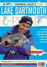 NEW - AFN Lake Dartmouth Map 2, Vic, Great for Fishermen In New Areas