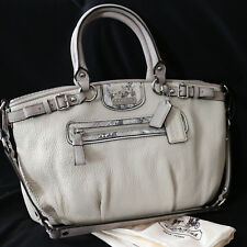 NWT COACH MADISON embossed exotic spectator SOPHIA SATCHEL Shoulder Bag Purse