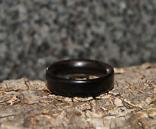 Ebony Wood Ring - Any Size