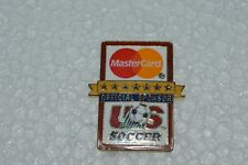 USA 1994 World Cup MASTERCARD Official Sponsor US Soccer Trading Pin Excellent