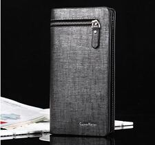 Men's Fashion European Classic Luxury Casual Long Wallets