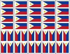 40 Removable Stickers: Philippines Flag, Philippine Party Favors, Decals
