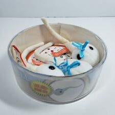 Spermatozoon 3 Plush Sperm in Petri Dish by Giant Microbe Pregnancy Reveal Prop