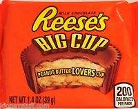 Reese's Big Cup Peanut Butter Milk Chocolate Cups 16 Packs  1.4oz (39g) Each