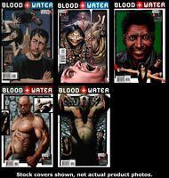 Blood and Water (Vertigo) 1 2 3 4 5 Complete Set Run Lot 1-5 VF/NM