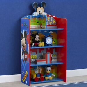 Delta Children Disney Mickey Mouse Wooden Playhouse 39.5'' Bookcase CBKE1228