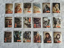 1967 Planet Of The Apes Trading Cards Apjac Productions and 21st Century Fox lot