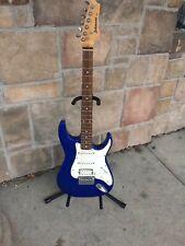 AXL Johnson Peavey Predator Electric Guitar Blue