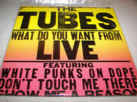 The Tubes What Do You Want From Live 2xLP NM A&M SP-6003 1978