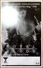 ROYAL BLOOD S/T Ltd Ed RARE Tour Poster +FREE Rock Punk Indie Blues Poster!